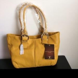 NWT Yellow Purse + Wallet
